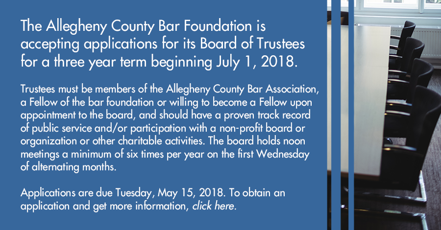 ACBF Board of Trustee Position Available